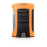 Colibri Daytona Single-jet Flame Lighter - Neon Orange & Black