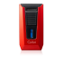 Colibri Slide Twin Double jet Flame Lighter - Red & Black