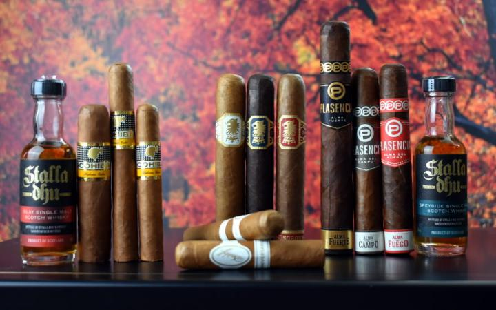 Cigar and Whisky Samplers