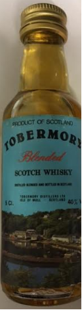 Tobermory Product of Scotland Blended Scotch Whisky Miniature - 5cl 40%