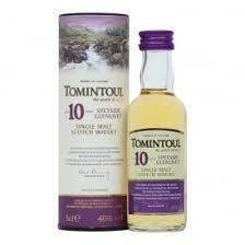 Tomintoul 10 Year Old Miniature - 5cl 40%