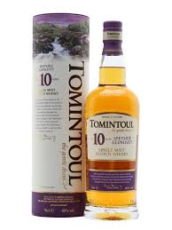 Tomintoul 10 Year Old Single Malt Scotch Whisky - 70cl 40%