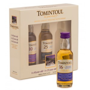JANUARY SALE - Tomintoul Taster 3x5cl Gift Pack