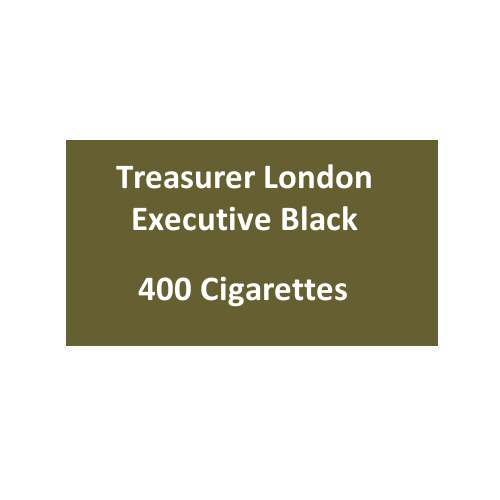 Treasurer London - Executive Black - 20 packs of 20 cigarettes (400)