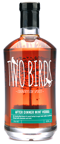 Two Birds After Dinner Mint Vodka - 20cl 29%