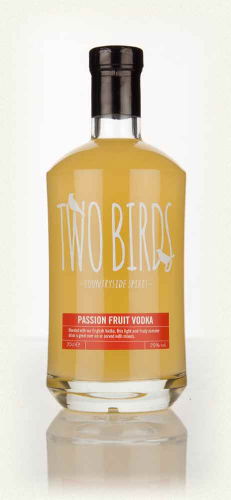 Two Birds Passion Fruit Vodka - 70cl 29%