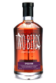 Two Birds Spiced Rum - 70cl 40%