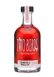 Two Birds Strawberry & Vanilla Gin - 20cl 37.5%