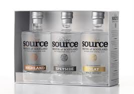 Uisge Source Water of Scotland Triple Pack - 3x10cl