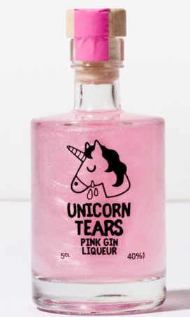 Unicorn Tears Pink Gin Miniature - 5cl 40%