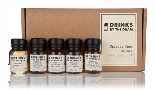 Drinks by the Dram Unusual Cask Whisky Tasting Set - 5 x 3cl 47%