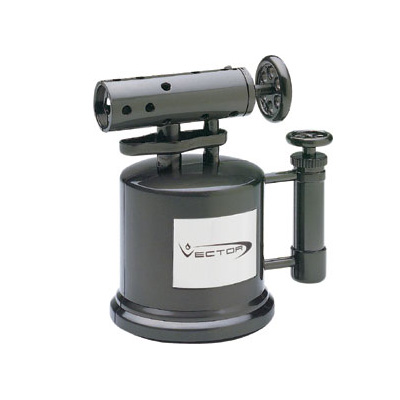 Vector Mega Pump Table Torch Lighter - Gunmetal