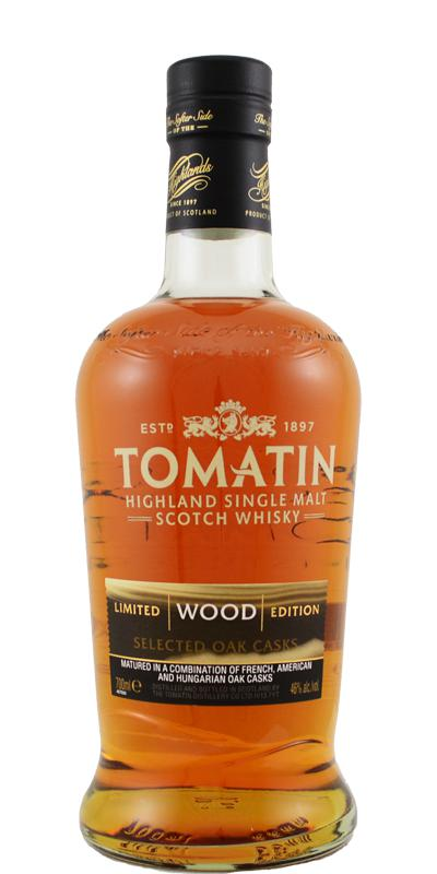 Tomatin Five Virtues Wood Single Malt Scotch Whisky Without Box - 70cl 46%