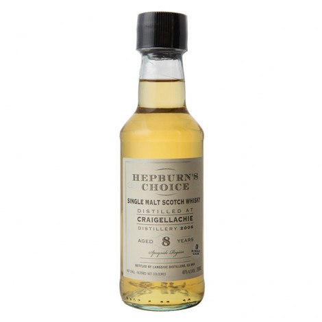 Hepburns Choice Craigellachie 8 Year Old - 20cl 46%