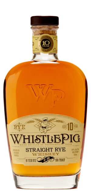 Whistlepig 10 Year Old Straight Rye Whiskey - 75cl 50%