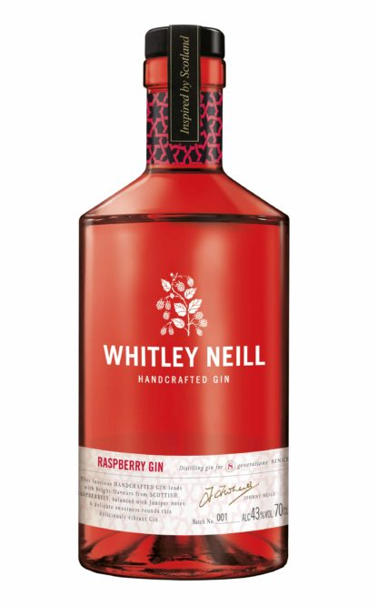 Whitley Neill Raspberry Gin - 70cl 43%