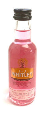 JJ Whitley Pink Cherry Gin Miniature - 5cl 38.36%