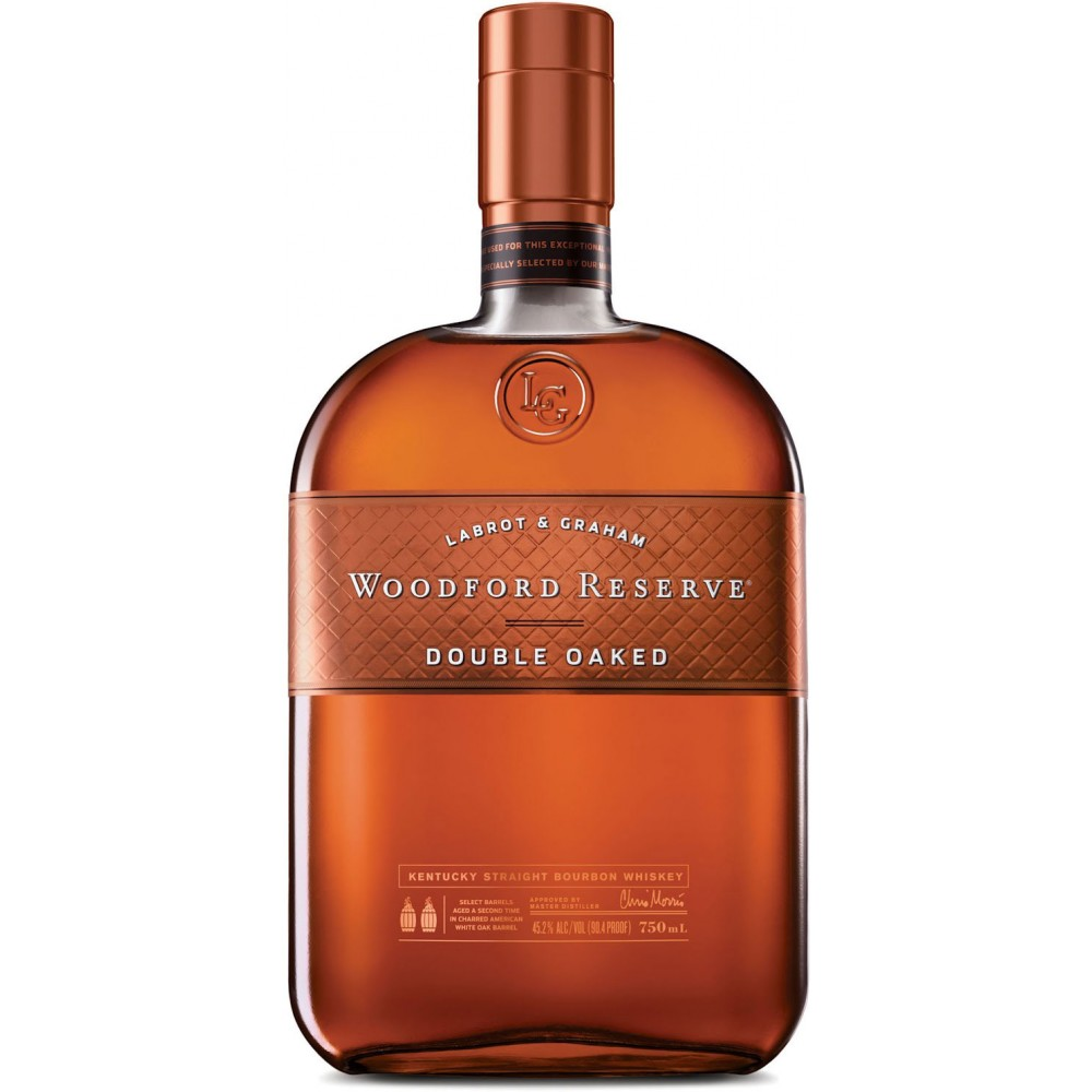 Woodford reserve double oaked whiskey 70cl 43 2 for Coopers craft bourbon review
