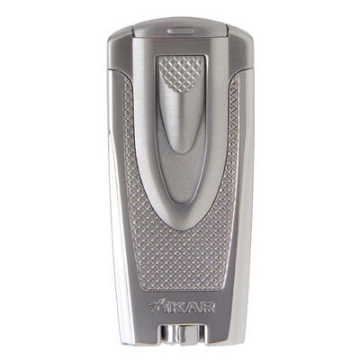 Xikar Axia Twin Double Jet Lighter Chrome (End of line)