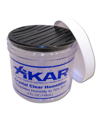 Xikar Crystal Clear Jar Humidifier – Large - 4oz