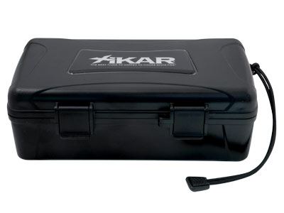 Xikar Travel Waterproof Case Black- 10 cigars capacity