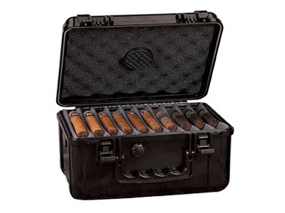 XIKAR Cigar Travel Waterproof Humidor - 50-80 Capacity