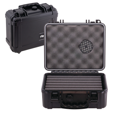 Xikar Travel Waterproof Case Humidor - 18-24 cigars capacity