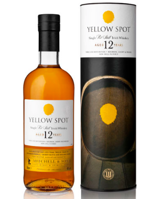 Yellow Spot 12 Year Old Single Pot Still Irish Whiskey - 70cl 46%